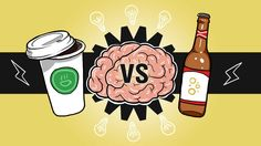Coffee vs Beer: It's more than a battle between the drunk and awake / Image from Lifehacker