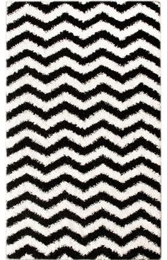 Rugs USA Venice Chevron White And Black Rug Halloween Sale 75 Off