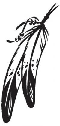 Tribal Feather Clip Art | Native American Tattoos