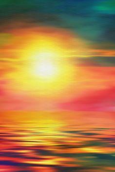#summer #orange #sunset