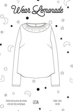 Patron de couture Leia - PDF…