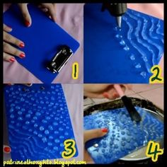 DIY MAKEUP BRUSH SCRUBBER :: This is genius...it's textured like the Sigma brush glove but costs under $2 & is super easy!