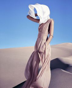 Joséphine Le Tutour As Desert Goddess By Nathaniel Goldberg For Harper's Bazaar US March2015 - 3 Sensual Fashion Editorials | Art Exhibits - Women's Fashion & Lifestyle News From Anne of Carversville