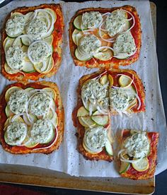 Basil Cauliflower Pizza | Fat Girl Trapped in a Skinny Body