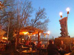 Best patio in the city! Psycho Suzi's Motor Lounge  Tiki Garden
