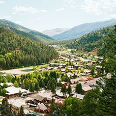 Red River, New Mexico... I spent most of my Summer vacations here when I was growing up. One of my favorite places.