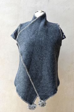 Recycled Wool Vest
