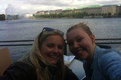 coffee with my sis in Hamburg:)