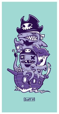 Arrr pirate by cronobreaker.deviantart.com on @deviantART