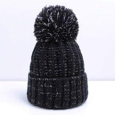 a3918024eca Fashion Women Winter Hat For Women Skullies Beanies Warm Knitted Hat Female  Cotton Winter Cap Brand