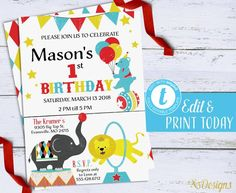 58 best birthday invitations and party printables our work images