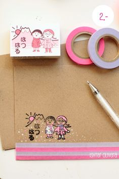 AHG Pen Pals Ideas: How to decorate and prepare an envelope ready to be sent off to a penpal. Use stamps then color in with gel pens, add washi tape, simple drawings on the inside and of course glitter and confetti! Love Mail, Fun Mail, Washi Tape Cards, Washi Tapes, Masking Tape, Mail Art Envelopes, Mail Gifts, Envelope Lettering, Decorated Envelopes