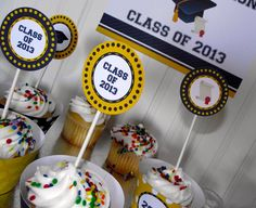 Free graduation party printables! #graduation #freeprintables
