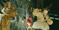 """Wonderful costumes and scenery in this under-rated, crazy movie, """"The Imaginarium of Doctor Parnassus"""""""