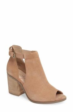 52bfe1bef421 Sole Society  Ferris  Open Toe Bootie (Women) Summer Boots