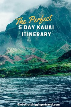 The Perfect 5 Day Kauai Itinerary There is so much to do on the island of Kauai, I've been twice so far and there is still a lot more I could see and do! I fell in love with Kauai so much the first time that I decided to Oahu Hawaii, Visit Hawaii, Hawaii Life, Hawaii Trips, Hawaii 2017, Kauai Vacation, Hawaii Honeymoon, Vacation Ideas, Romantic Honeymoon