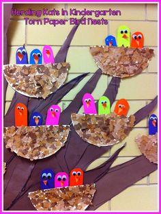 Herding Kats in Kindergarten: Spring Crafts Bulletin Board