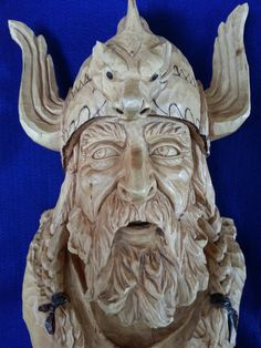 The Viking by Rex Branson by MarbleMountainArts on Etsy, $750.00