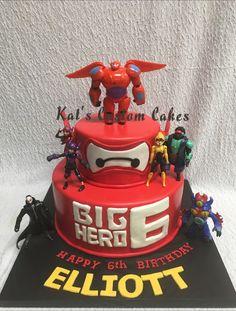 Big Hero 6 Birthday Cake!