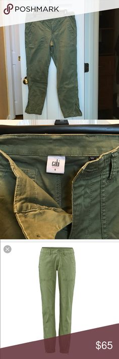 CAbi Spring 2016 Travelers pants -EUC Excellent, used condition. Worn twice, washed once, air dry. Don't fit me well. Super comfy, soft, stretch material. CAbi Pants Straight Leg