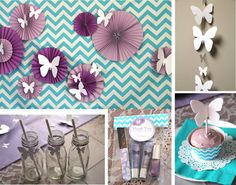Butterfly Meadow  Birthday Decorations full party by TaffieWishes