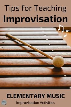 Teaching improvisation in the elementary music classroom should be fun for teachers and students. These ideas make learning to improvise favorite lessons for teachers Elementary Music Lessons, Elementary Schools, Student Learning Objectives, Orff Activities, Music Education, Health Education, Physical Education, Music Classroom, Music Teachers