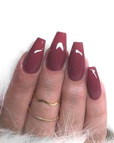 🌹 Have You Tried these 70+ Elegant Chic Classy Nails Designs Loved By Both Saint & Sinner? Do you know Burgundy Colors represent Ambition,Wealth,Power & Fearless Love? #NotStayingBlueToday #BurgundyColors 🍅 aesthetic nails multicolor nails glittery nails fll nails fake nails jewelled nails nail growth instagram nails vampy nails essie nails nails coffins applying fake nails nails gelish decorative nails mal nails nail design tutorials nail striper designs nails bitting