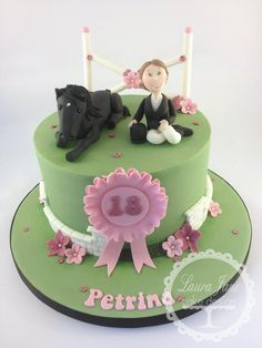 Horse/Equestrian Cake - by LauraJaneCakeDesign @ CakesDecor.com - cake decorating website