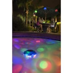 Underwater LED Light Show Fountain Outdoor Pool Hot Tub Supplies Color Ch DEE
