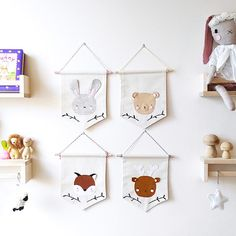 Hey, I found this really awesome Etsy listing at https://www.etsy.com/uk/listing/489499321/bunny-fox-bear-deer-banner-wall-decor