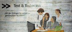 Text & Redaktion: Mit der richtigen Redaktion zur gewünschten Reaktion