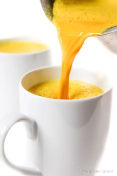 The Garden Grazer: Bedtime Golden Turmeric Milk (Vegan)