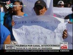 Se Oponen A Canal En Nicaragua Similar Al Canal De Panamá #Video