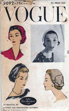John Frederics (Mr. John) for Vogue, 1957