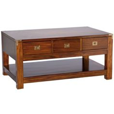 The Lindhurst Coffee Table - Mahogany Coffee Table alternative