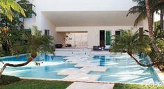 Sally Lee by the Sea: {Beach House Tour} Michael Bay's Miami Beach Makeover