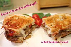 Kecia's Grilled Steak & Cheese Sandwich