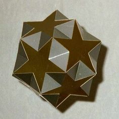 Paper Model Small Ditrigonal Icosidodecahedron. More styles like this on this website.  Quite a resource.