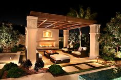 Beautiful outdoor living space!