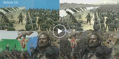 Baahubali war scenes VFX breakdown