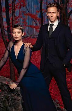 Mia Wasikowska and Tom Hiddleston in Cine Premiere Magazine October 2015. Full…