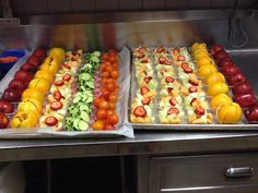 A scrumptious variety of fresh fruits and veggies gives the students at OC Taylor - Grapevine Colleyville ISD (TX) many healthy options on the first day of school.