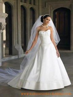 Robe de mariée 2011 sans bretelle