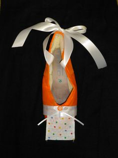 Decorative pointe shoe  lollipop nutcracker by PointePerfection1, $15.99