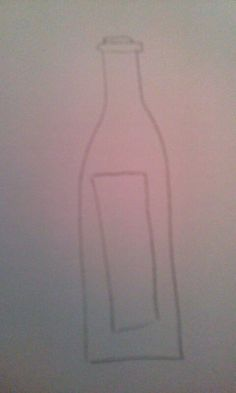 "Part of design for brand - wine bottle represents ""wine"" aspect of brand"