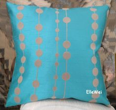 ElleWeiDeco Modern Turquoise blue with Flocking Dots Throw Pillow Cover Elleweideco,http://www.amazon.com/dp/B00AL06NUU/ref=cm_sw_r_pi_dp_6ywBtb0ZPE91QJEC