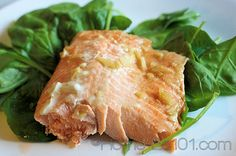 Steelhead Trout with Honey Glaze  Steelhead Trout is new to me. Not as strong a taste as salman, but similar. I used Maple Syrup for this recipe. I liked it, my husband...not so much, but he doesn't like salmon. I knew I was taking a risk. It's simple, I'd recommend it.