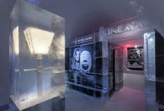A Face in the Crowd suite at ICEHOTEL 24