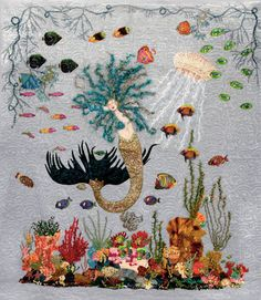 Mermaid by Dean Deerfield, in an interview with Donniece Smith at ThreadTalk