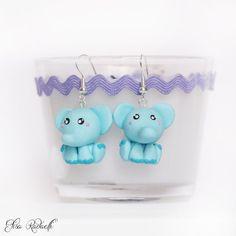 He encontrado este interesante anuncio de Etsy en https://www.etsy.com/es/listing/128395215/baby-elephant-earrings-polymer-clay